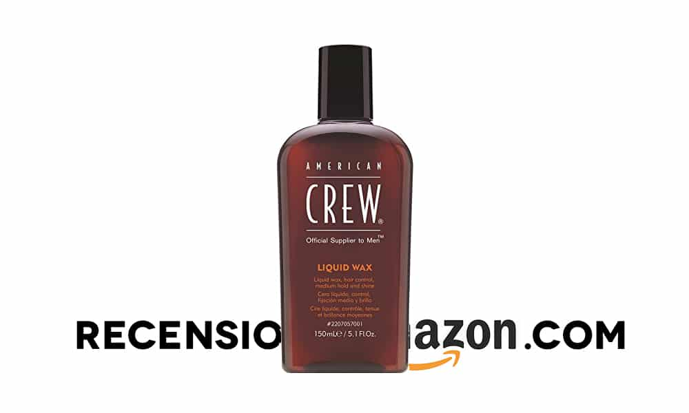 Recensione American Crew Liquid Wax
